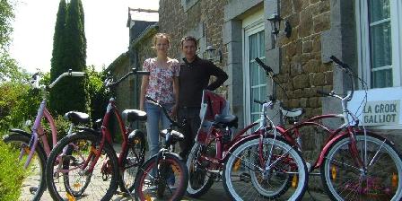 La Croix-Galliot Vélo à louer chez nous, la Croix-Galliot