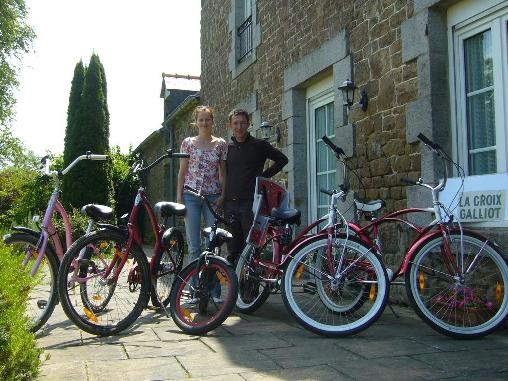 Vélo à louer chez nous, la Croix-Galliot