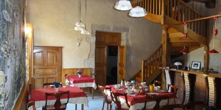 Château de Missandre Salle des petits déjeuners