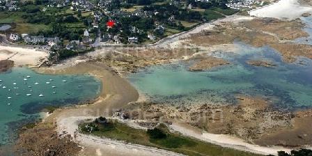 Gîte Minter Michel Gite a 100 metres de la plage, Chambres d`Hôtes Penvenan (22)