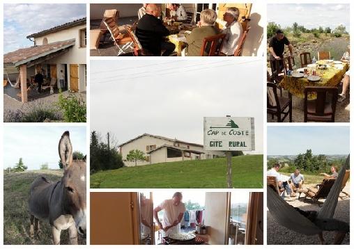 Cap de Coste, Gîtes Saint-Frajou (31)
