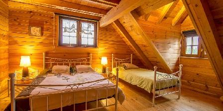 Les Chalets du Mazet Chambre 1 avec 3 couchages