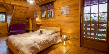 Les Chalets du Mazet Seconde chambre avec 2+1 couchages