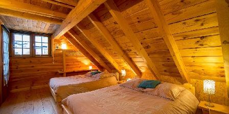 Les Chalets du Mazet Troisième chambre 4 couchages