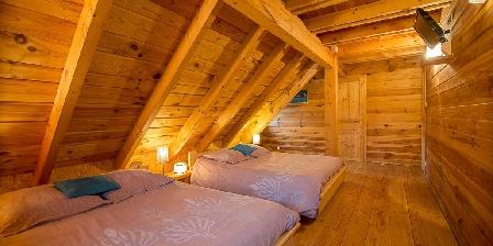 Les Chalets du Mazet Quatrieme chambre 5 couchages +1