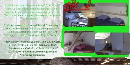 Ferme la Longre Ferme la Longre, Chambres d`Hôtes Cerisy La Foret (50)