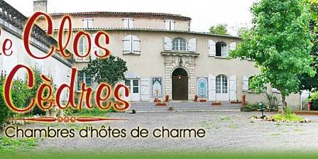 Le Clos des Cèdres Le Clos des Cèdres, Chambres d`Hôtes La Rochefoucauld (16)