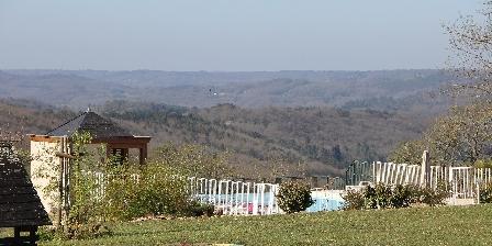 Domaine des Compouzines Panoramic view