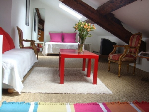 Chambres d 39 hotes paris bed and breakfast gastzimmer - Chambre d hote paris montparnasse ...