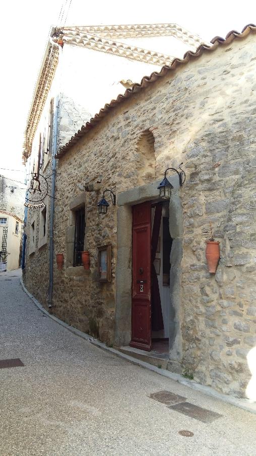 Chambre d'hote Hérault - rue du Couvent  piétonne