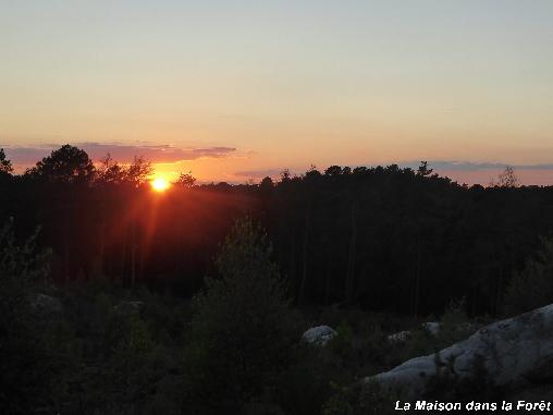 Coucher de soleil au Rocher Caillaud