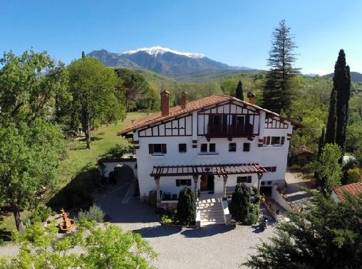 Villa du Parc, Chambres d`Hôtes Prades (66)