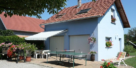 Gite La Maison Bleue > La Maison Bleue, Gîtes Oberhergheim (68)