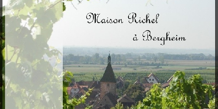 Maison Richel Location Maison Richel à Bergheim, Gîtes Bergheim (68)