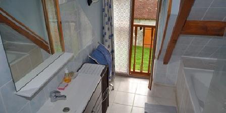 Gîte du Laurier Salle bain chambre Cassandre
