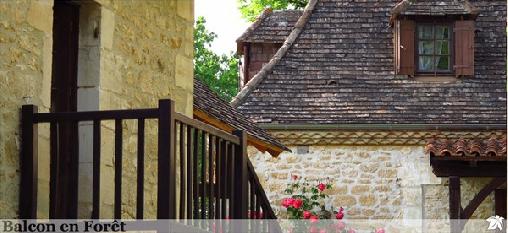 Balcon en Foret, Chambres d`Hôtes Beynac-et-Cazenac (24)