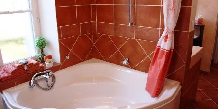 Domaine de l'Hérissaudiere Salle de bain Vouvray