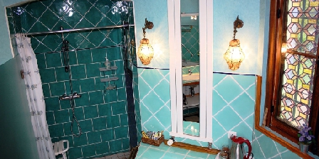 Domaine de l'Hérissaudiere Salle de bain Montlouis