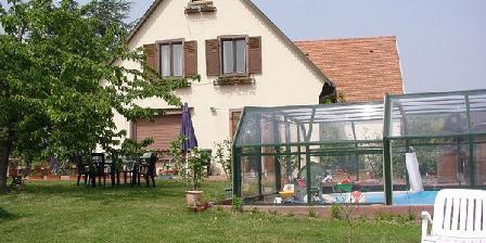 Chambres d'Hôtes de la Tulipe Chambres d'hôtes en Alsace à Mittelbergheim, Chambres d`Hôtes Mittelbergheim (67)