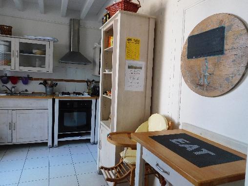 Les Fillattes, La cuisine dans La Maison