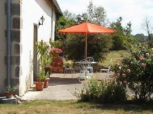 Chambre d'hote Allier - La terrasse