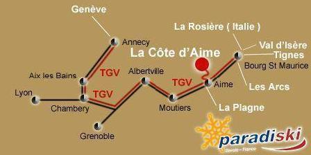 Chambre d'hotes Auberge de Cassiel > Auberge de Cassiel, Chambres d`Hôtes La Côte D'Aime (73)