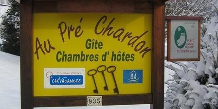 Au Pré Chardon Au Pré Chardon, Chambres d`Hôtes Saint Aupre En Chartreuse (38)