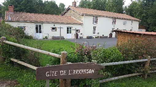 Gite de L'Arkanson, Gîtes La Caillere Saint Hilaire (85)