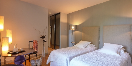 Domaine des Layres Chambre Epure 2 lits 90x200cm