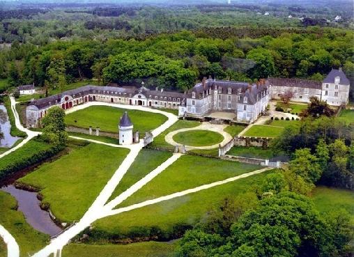 Chambre d'hote Indre-et-Loire - Château de Gizeux, Chambres d`Hôtes Gizeux (37)