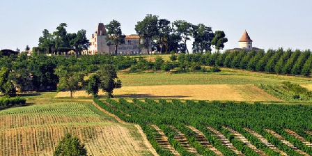 Chateau De Scandaillac Chateau De Scandaillac, Chambres d`Hôtes Saint Eutrope De Born (47)