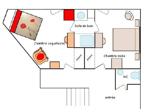 La Pérousière, Chambres d`Hôtes Jarrie (38)