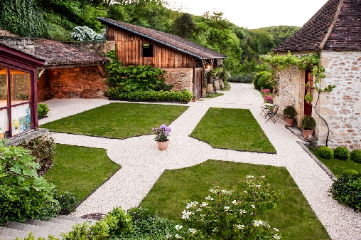 L'accès à notre maison d'hôtes en Dordogne