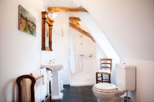 salle de bains et toilette privées