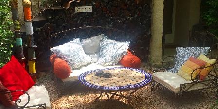 Chambre d'hotes La Colombière du château > Plein de petites coins pour se reposer