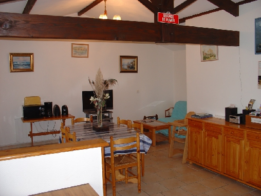 bed & breakfast Charente-Maritime - dining room