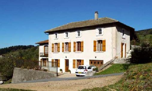 Chambre d'hote Rhône - Lafuserie, Chambres d`Hôtes Ouroux (69)