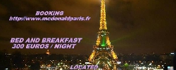 Chambre d'hotes Chez Mc Donald A Paris