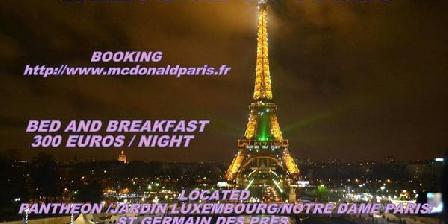Chez Mc Donald A Paris Chez Mc Donald A Paris, Chambres d`Hôtes Paris (75)