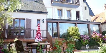 Chambre d'hotes Villa Bellevue > Villa Bellevue, Chambres d`Hôtes Grandcamp Maisy (14)