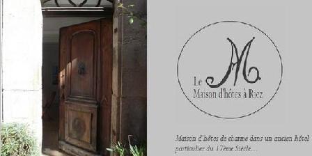 Maison d'Hôtes le M  Maison d'Hôtes le M Verdon Provence, Chambres d`Hôtes Riez (04)