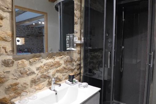 Chambre d'hote Haute-Marne - Salle d'eau