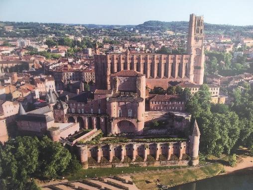 La Cathedral à Albi, 15 min de PuechBlanc