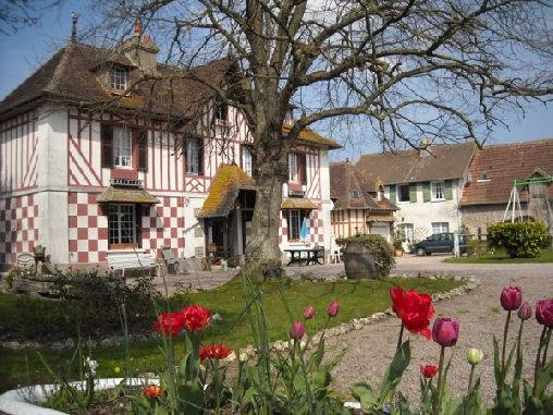 Chambre d'hote Calvados - Le Pressoir du Lieu Pieugé, Chambres d`Hôtes Blonville Sur Mer (14)