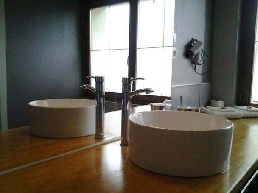 Suite Papillon, salle de bain