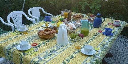 Villa Rozelands Petits dejeuners au jardin