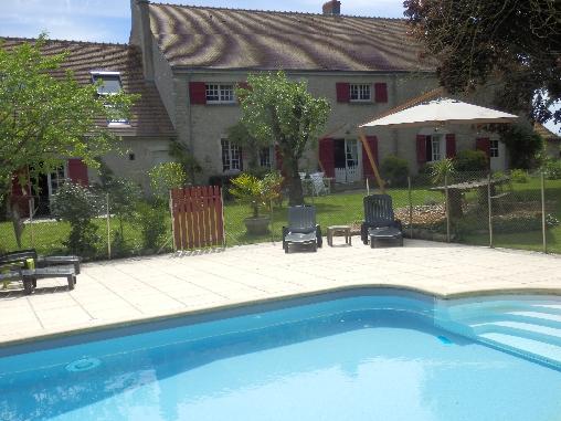 Chambre d'hote Loiret - Le Clos de La Vigneronne, Chambres d`Hôtes Messas (45)