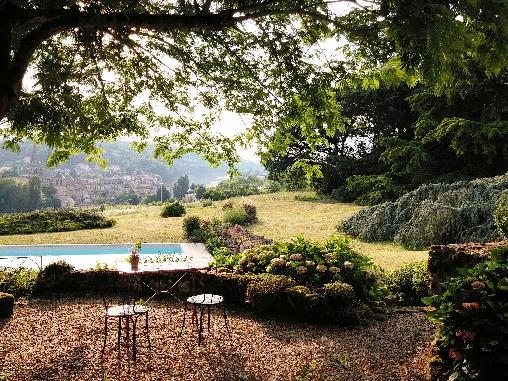 Chambre d'hote Gironde - vue sur le village