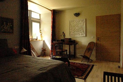 Chambre d'hote Ardèche - chambre indonésienne