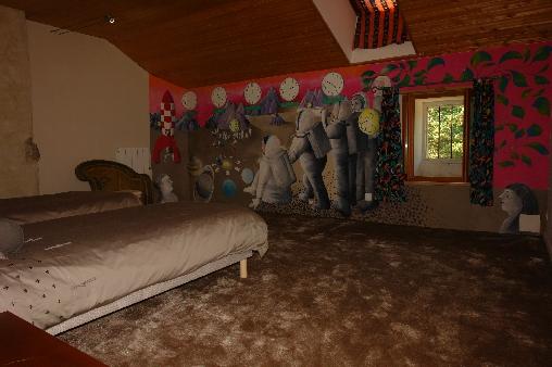 Chambre d'hote Ardèche - chambe des astronautes